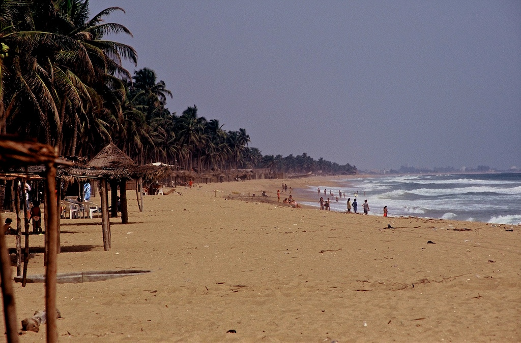 Benin Fishermans beach