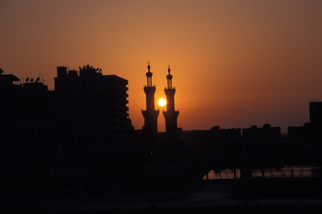 Egypt-port Said-sundown