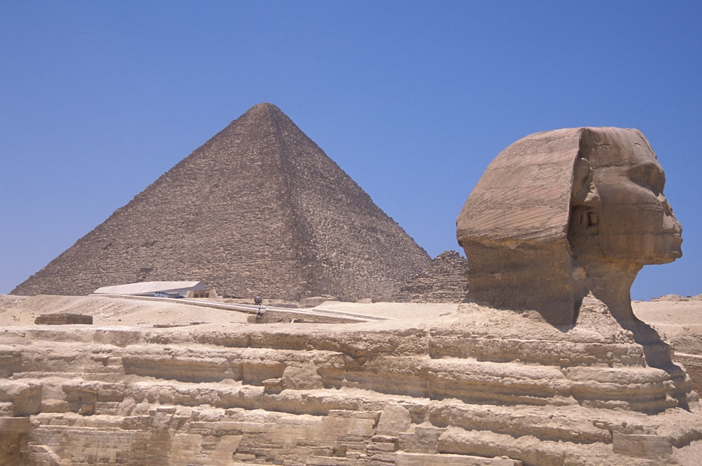 Egypt-pyramid and sphinx3