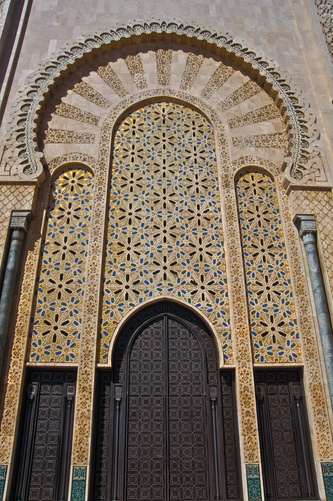 Hassan II-grande entrance