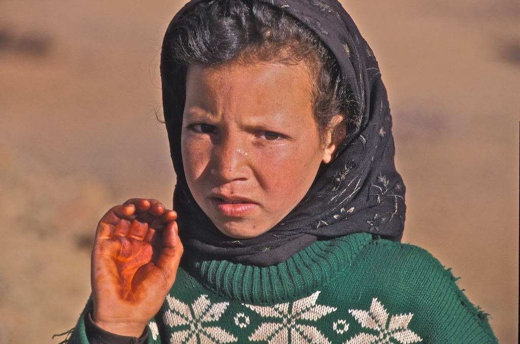 Maroc-south girl hand