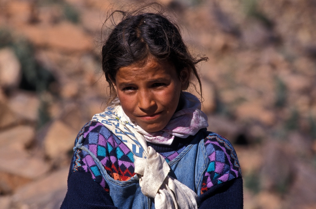 Morocco-south-child-girl-