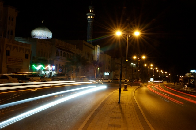 Oman-cornich nightlights