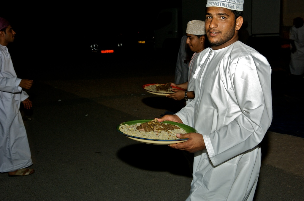 Omani wedding -food