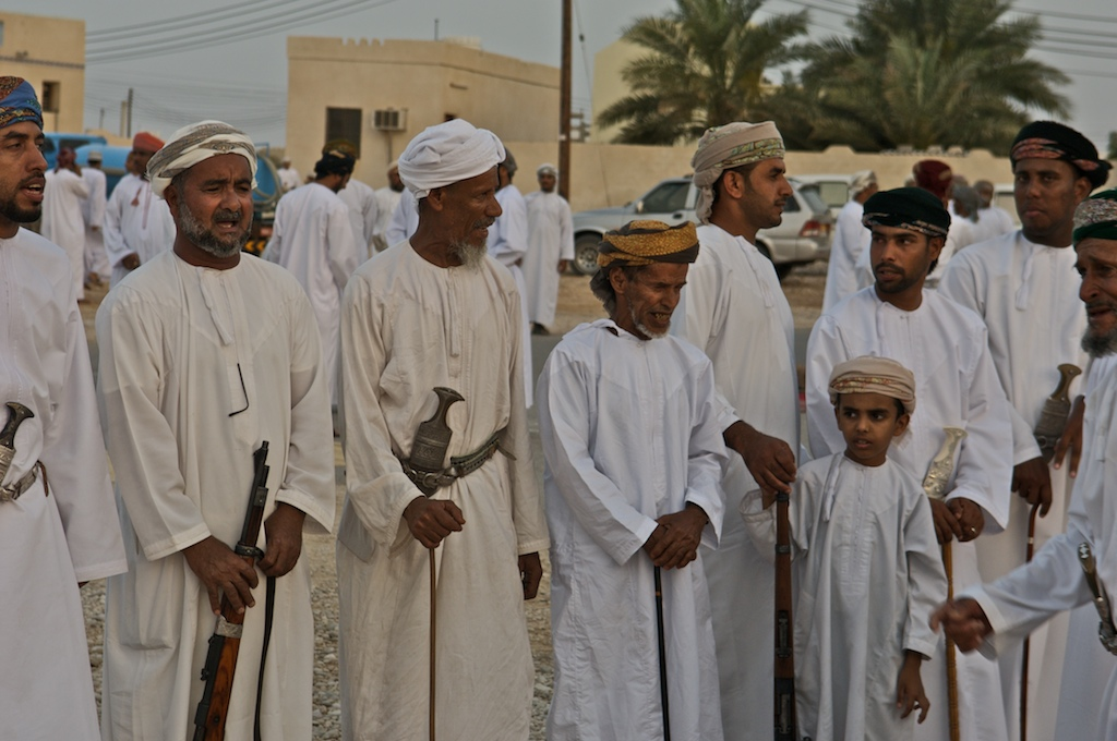 Omani wedding -men