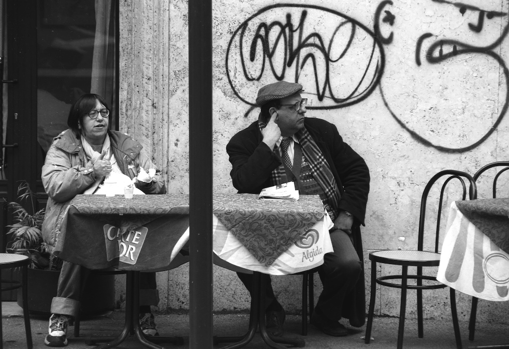 Roma-odd couple BW73