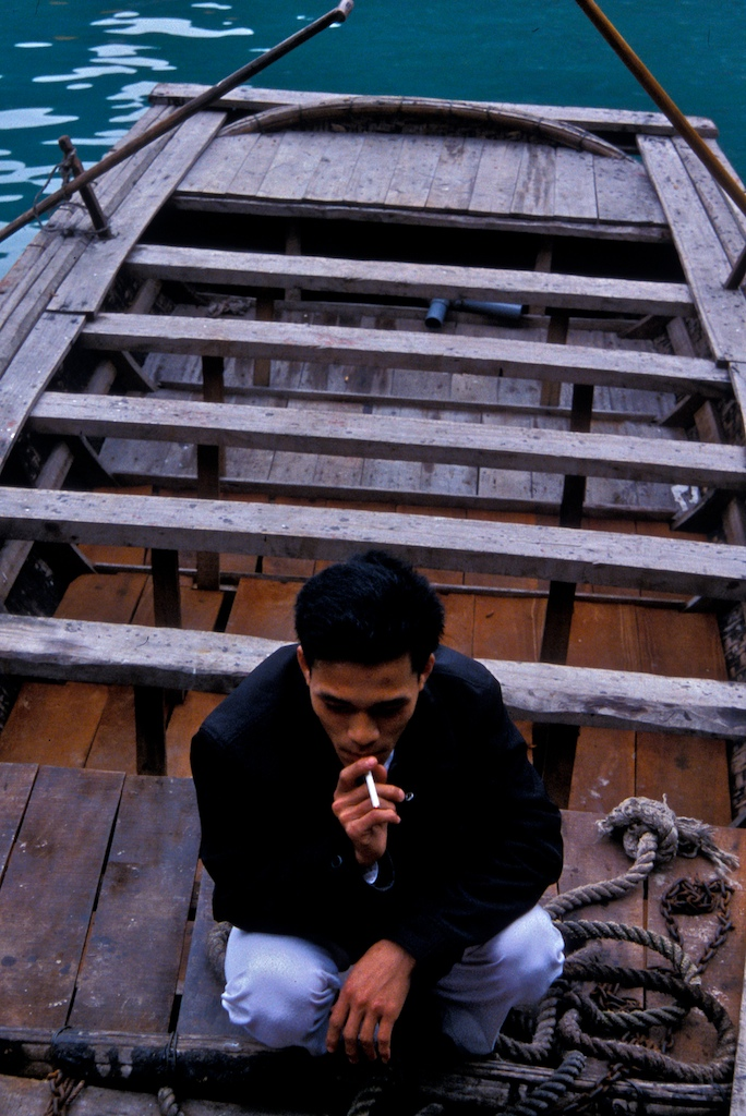 Vietnam-man and cigarette
