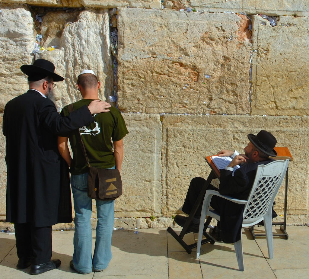 Western wall prayers-Jerusalem